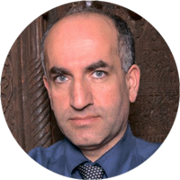 Байрам Балджи, ученый из парижского Центра международных исследований, приглашенный ученый в вашинг-тонском офисе Фонда Карнеги